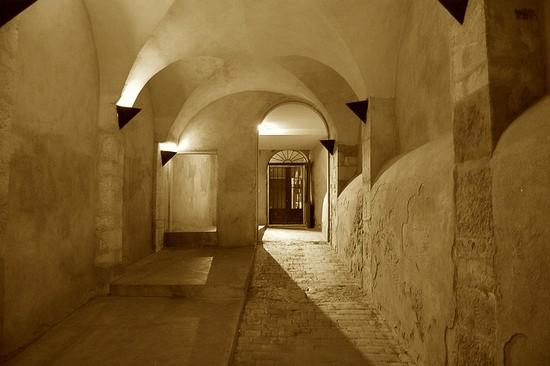 traboule dans le vieux Lyon